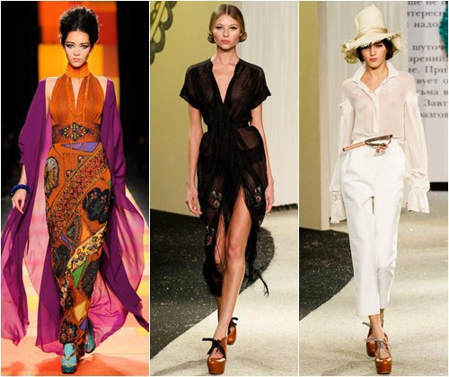 Что будет модно в сезоне весна-лето 2013, тенденции, тренды, фото