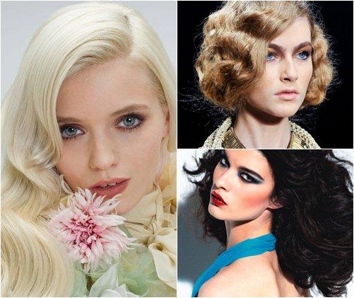 Модные окрашивания волос зима 2013, тенденции, фото