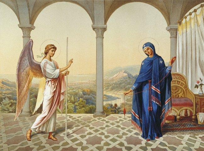 Благовещение Пресвятой Богородицы — 7 апреля