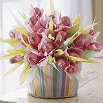 Как сделать тюльпан из бумаги: мастер-класс