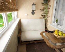 Дизайн лоджий и балконов