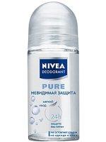 Nivea Pure Невидимая защита Шариковый дезодорант