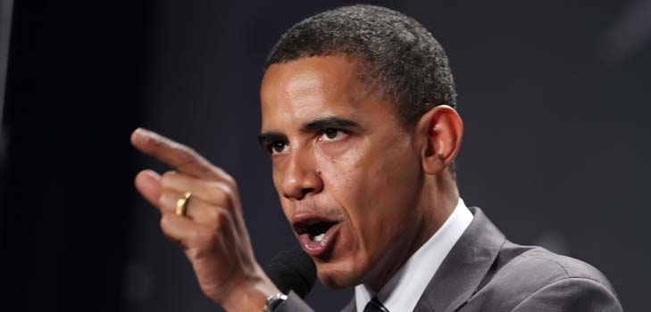 Барак Обама спешит на помощь своей супруге