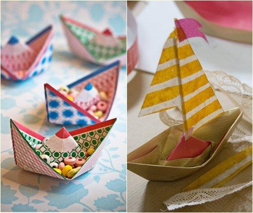 Кораблик из бумаги своими руками, схема