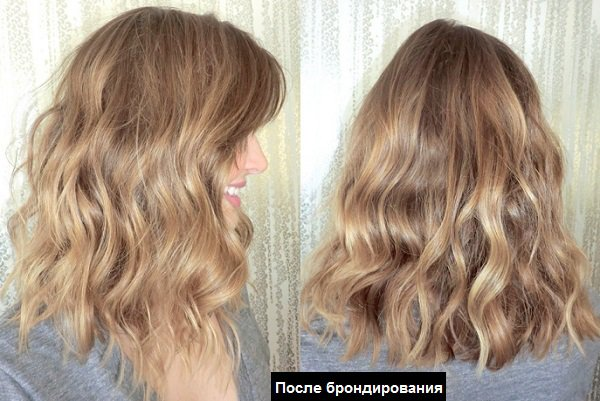 Брондирование волос в домашних условиях — фото до и после окрашивания