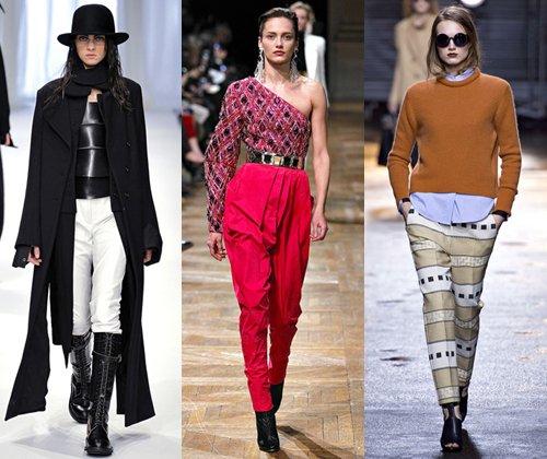 Модные женские брюки осень зима 2013 2014 года (фото)