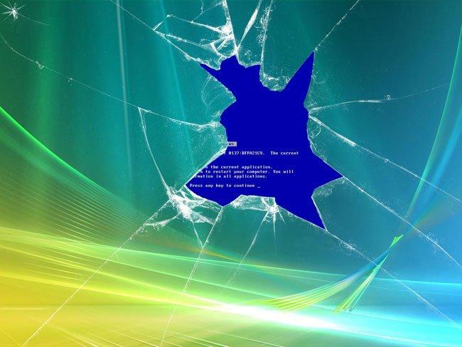 BSoD - синий экран смерти
