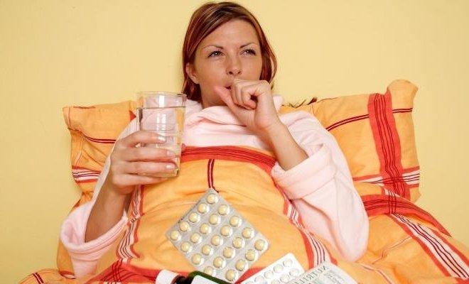Как лечить простуду при беременности лекарства