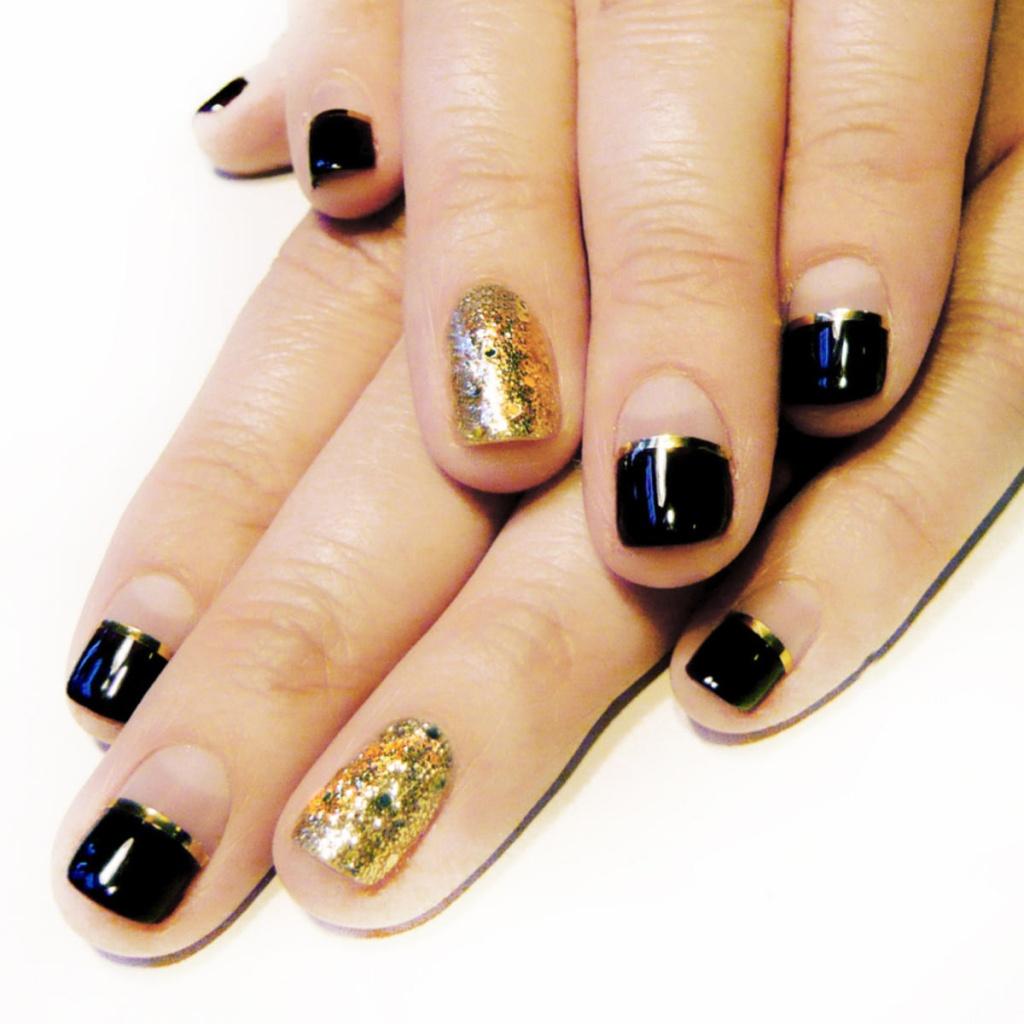 Фото маникюра на коротких ногтях