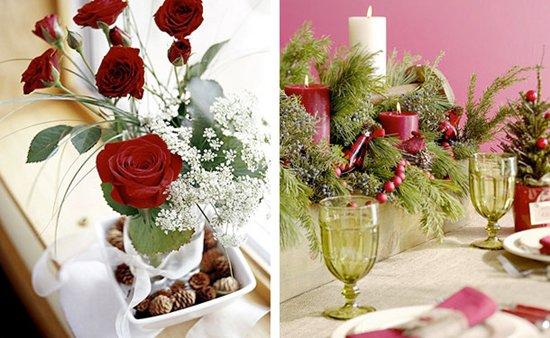 Как украсить новогодний стол на год Лошади 2014  20 лучших фото идей