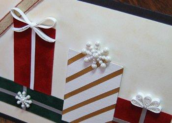 Как сделать новогоднюю открытку в технике квиллинг, фото