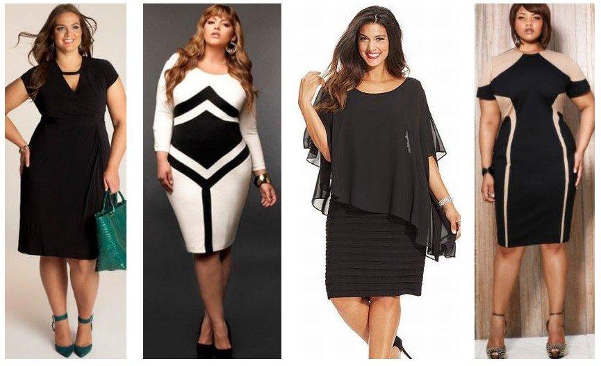 Какое платье одеть полной женщины