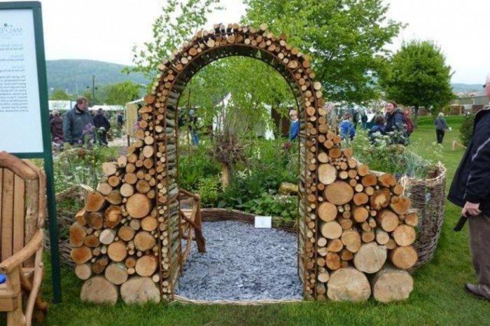 Архитектурные малые формы для сада своими руками