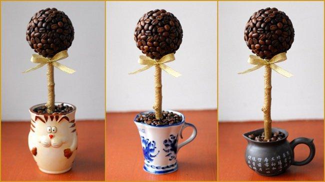 Как сделать кофейное дерево