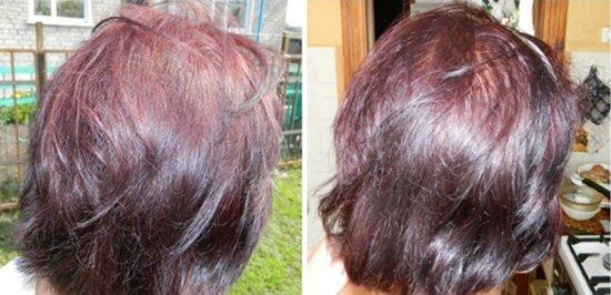 Окрашивание тон в тон: фото до и после