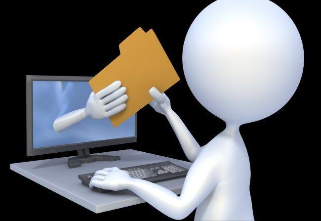 Как передать файлы с компьютера