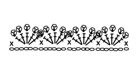 Вязаная елочка