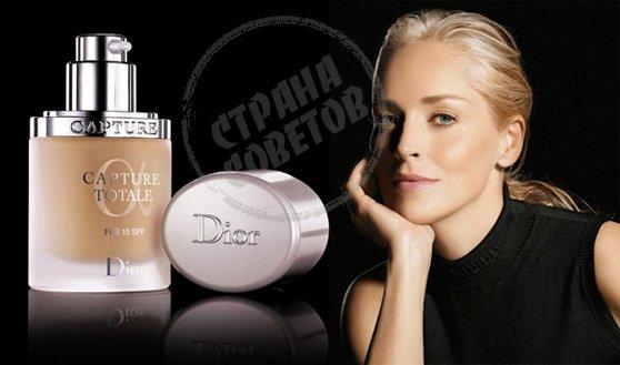 Dior Capture Totale Foundation тональная сыворотка
