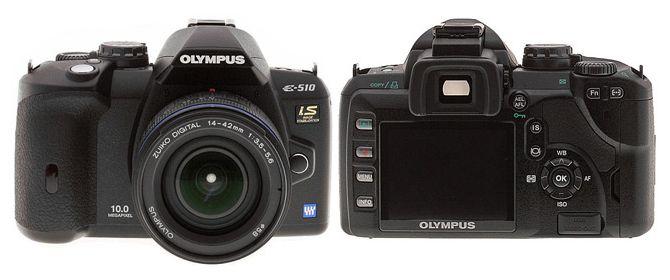 Olympus E-510 Цифровая камера