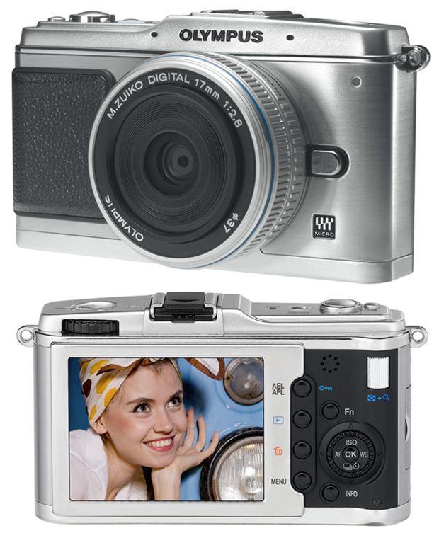 Olympus E-P1 Цифровая камера
