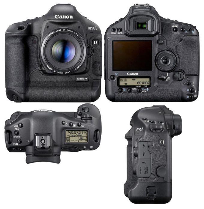 Canon EOS 1D Mark IV Цифровая камера