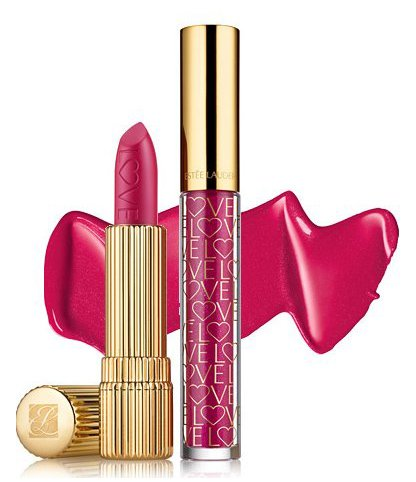 Estee Lauder LOVE Your Lips помада + блеск для губ