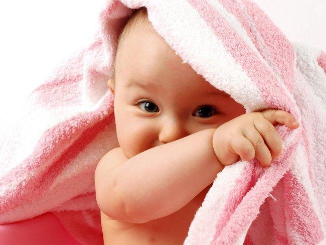 Первое купание новорожденного