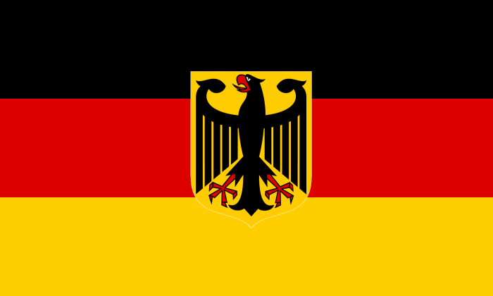 Флаг Германии. Цвета, история, значение флага Германии