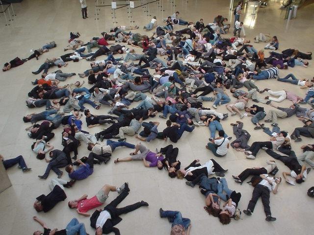 Флеш-моб, что такое эффект «мгновенной толпы»?