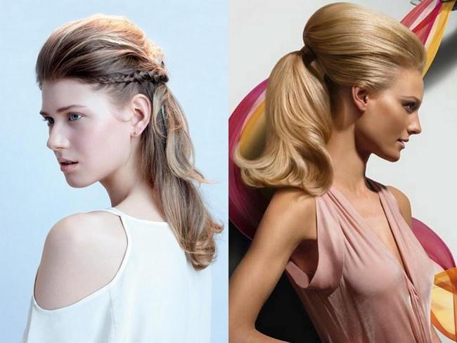 Модные причёски из длинных волос 2017 женские фото