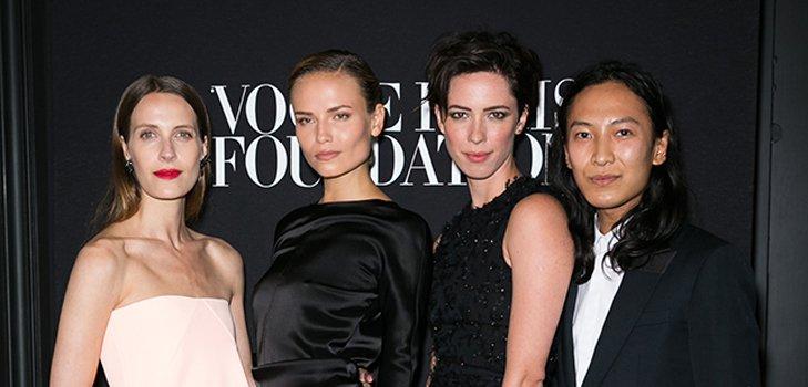 Гала-ужин Vogue в конце парижской Недели моды