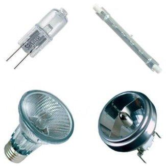 Галогенные светильники успешно конкурируют с лампами накаливания