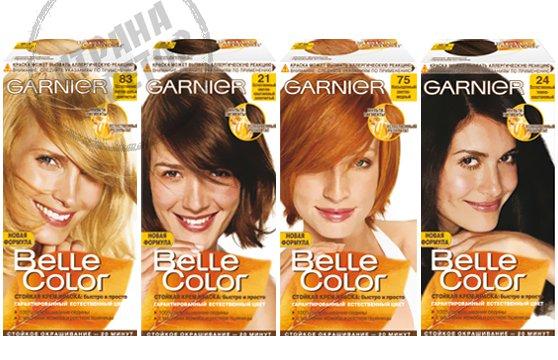 Garnier Belle Color краска для волос