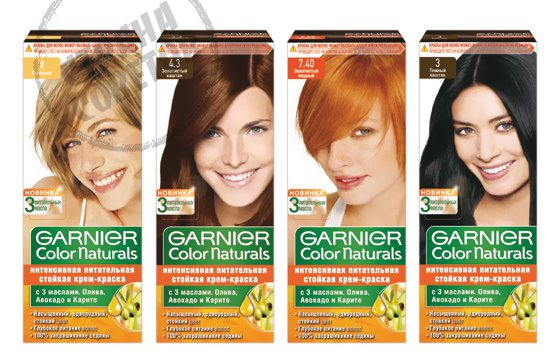 Garnier Color Naturals краска для волос