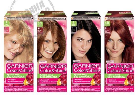 Garnier Color Shine краска для волос