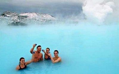 Геотермальный курорт Голубая лагуна, Исландия