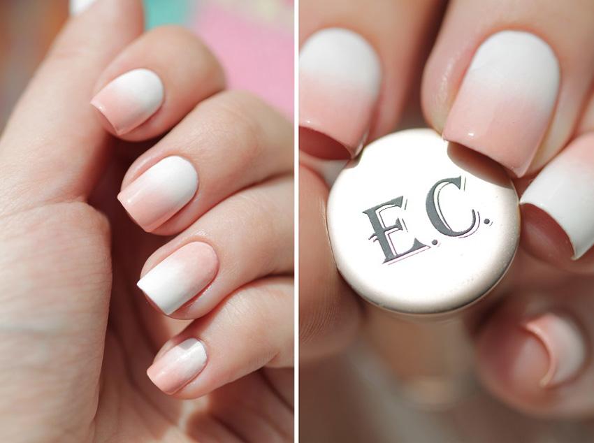 Дизайн ногтей градиент для свадьбы
