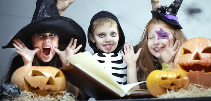 Хэллоуин 2014 для детей
