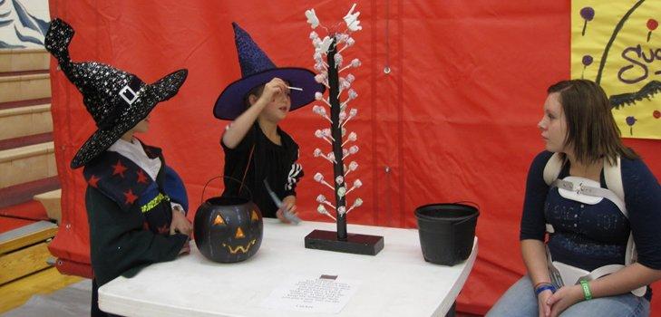 Игры и конкурсы на Хэллоуин 2014