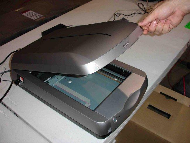 Как установить сканер