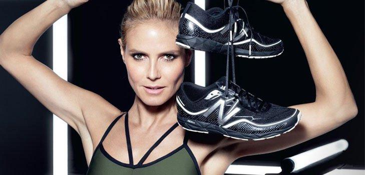 Хайди Клум разработала коллекцию спортивной одежды