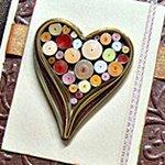 Как сделать квиллинг сердце, пошаговая инструкция с фото