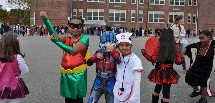 Хэллоуин 2014 в школе: отмечаем в классе