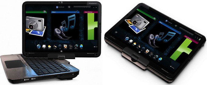 HP TouchSmart tm2 - ноутбук-трансформер