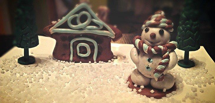 Как сделать снеговика из полимерной глины: мастер-класс