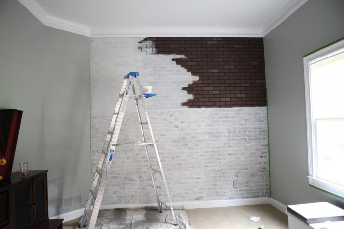 Ремонт стена своими руками из штукатурки