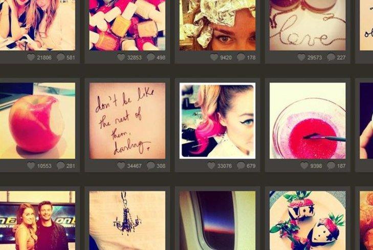 Инстаграмм: твой мир в фото