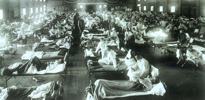 «Испанка» - грипп, который люди никогда не забудут