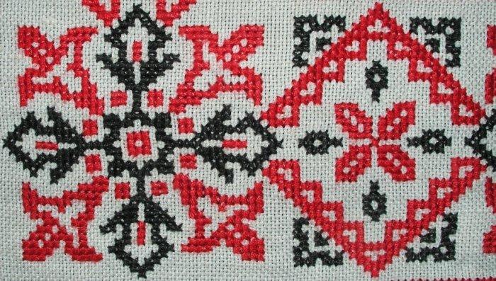 История вышивки крестом -- из древности до наших дней