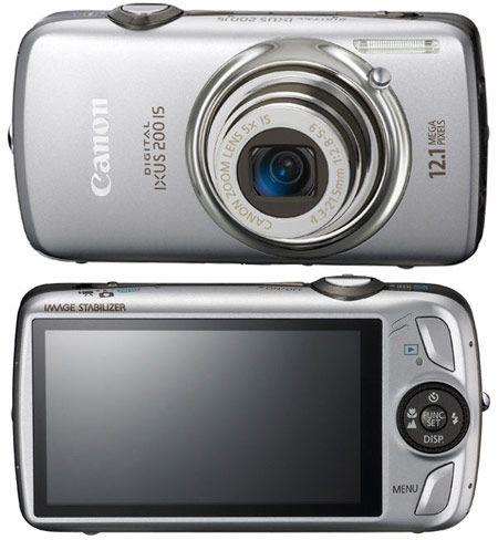 Canon Digital IXUS 200 IS Цифровая камера